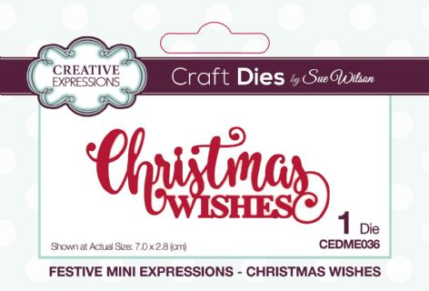 Festive Mini Expressions - Christmas Wishes